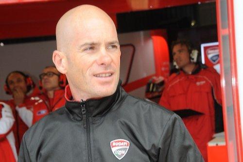 Regis Laconi, Pilote 500 Moto GP et Superbike.