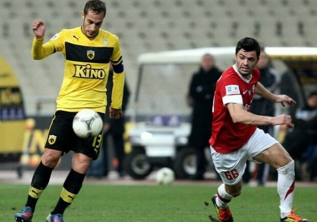 Antonis Rikka, footballeur professionnel.
