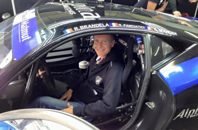 Bruno Strazzer, Gentleman Driver Blancpain GT series